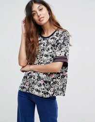 Maison Scotch Sily Floral Print Top 19 Combo C Multi