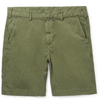 Save Khaki United Cotton Twill Bermuda Shorts Green