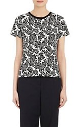 Emanuel Ungaro Abstract Leaf T Shirt Multi