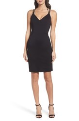Fraiche By J 'S Strappy Body Con Dress Black