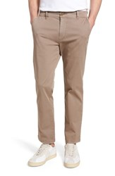 Hudson Jeans Clint Stretch Chino Pants Taupe