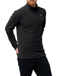 Jack Wolfskin Gecko 'S Fleece Black