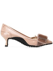 Tod's Patent Pumps Pink