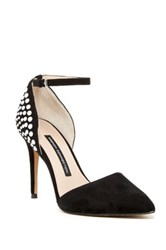 French Connection Eletta Embellished D Orsay Pump Black