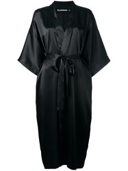 Filles A Papa 'Please Insert Money' Kimono Coat Black