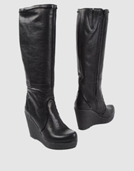 Fiorina High Heeled Boots Black