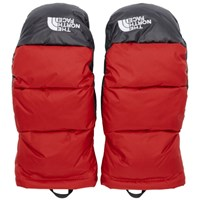 The North Face Red Down Nuptse Mittens