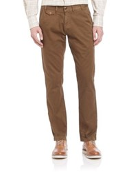 Barbour Neuston Solid Trousers Willow Green