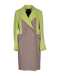 Marco Bologna Coats And Jackets Coats Women Light Green