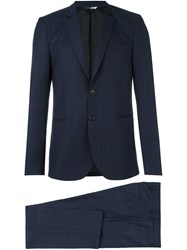 Paul Smith Ps By Two Piece Suit Blue
