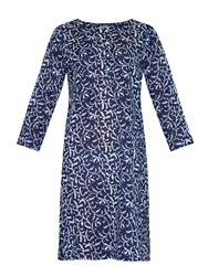 Velvet By Graham And Spencer Daree Printed Cotton Dress