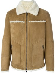 Drome Shearling Jacket Brown