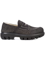 Rocco P. Loafer Shoes Women Cotton 38.5 Black