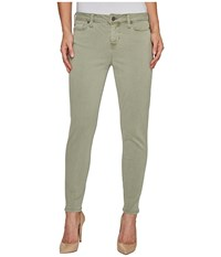 Liverpool Devon Relaxed Ankle Skinny In Stretch Peached Twill In Shadow Green Shadow Green Women's Jeans