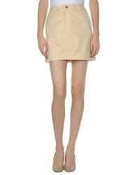 Pepe Jeans Mini Skirts Beige