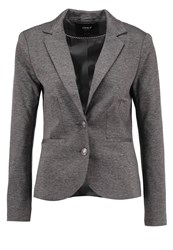 Only Onlariel Blazer Dark Grey Melange Mottled Dark Grey
