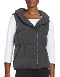 Bench Hooded Quilted Puffer Vest Jet Black