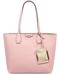 Nine West Caden Large Tote Modern Pink Platino