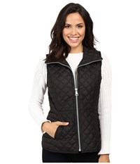 Marc New York Arielle 25 Polyfill Quilt Vest Black Women's Vest