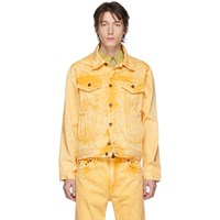 Y Project Yellow Denim Double Seam Jacket