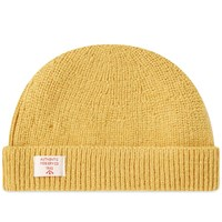 Nigel Cabourn Solid Beanie Yellow