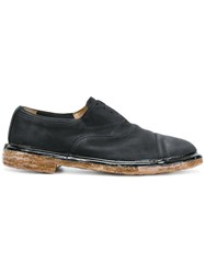 Premiata Kubu Laceless Loafers Black