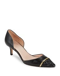 Kate Spade Pam Cap Toe D Orsay Pumps Black