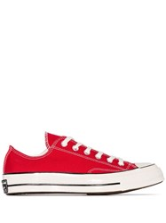 Converse 70 Chuck Low Top Sneakers Red
