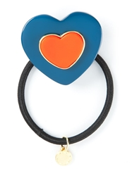Marc By Marc Jacobs Heart Shaped Hair Tie Blue