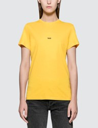 Helmut Lang Taxi Short Sleeve T Shirt New York Edition