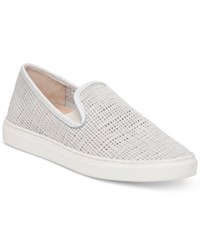 Vince Camuto Becker Slip On Sneakers Women's Shoes Bone White