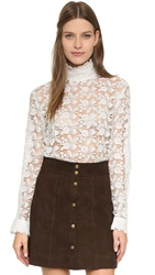 Roseanna Galvin Lace Top Blanc