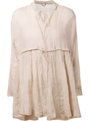 Arts And Science Sheer Blouse Nude And Neutrals