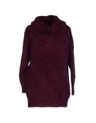 Red Soul Knitwear Turtlenecks Women Deep Purple