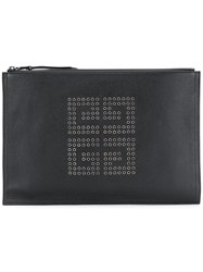 Givenchy Logo Clutch Bag Black