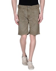 Reign Trousers Bermuda Shorts Men Military Green