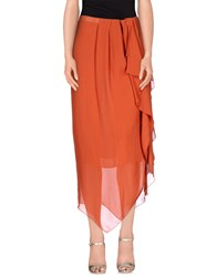 Aniye By Skirts Long Skirts Women Rust