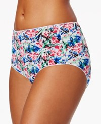 Jockey No Panty Line Promise Hipster 1372 Artistic Floral