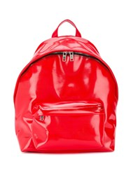 Givenchy Pvc Backpack Red