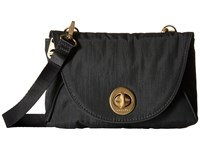 Baggallini Gold Seville Mini Charcoal Cross Body Handbags Gray
