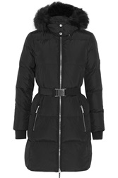 Michael Michael Kors Faux Fur Trimmed Quilted Shell Down Coat