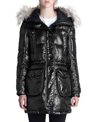 Rainforest Faux Fur Trimmed Puffer Anorak