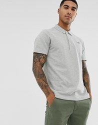 Lacoste Sport Logo Polo In Grey