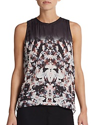 Autograph Addison Printed Drape Back Blouse Multi