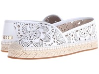 Burberry Hodgeson Lc Optic White Women's Flat Shoes