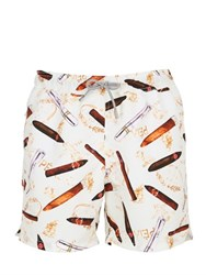 Mc2 Saint Barth Gustavia Cigars Swim Shorts