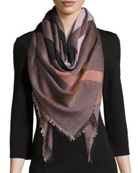 Burberry Relaxed Mega Check Scarf Rose