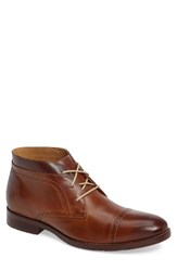 Johnston And Murphy Men's Garner Cap Toe Chukka Boot