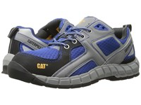 Caterpillar Gain Steel Toe Blue Lace Up Casual Shoes