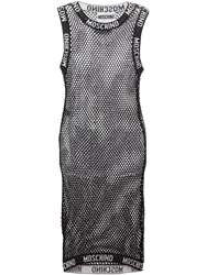 Moschino Netted Dress Black